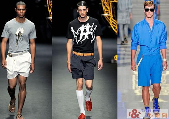 2012春夏男装的运动元素