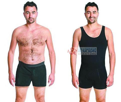男装修身背心和束裤二合一 藏起赘肉