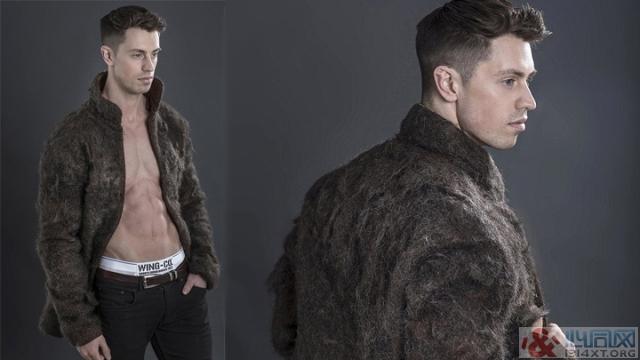 男性胸毛外套 增加雄风男性魅力