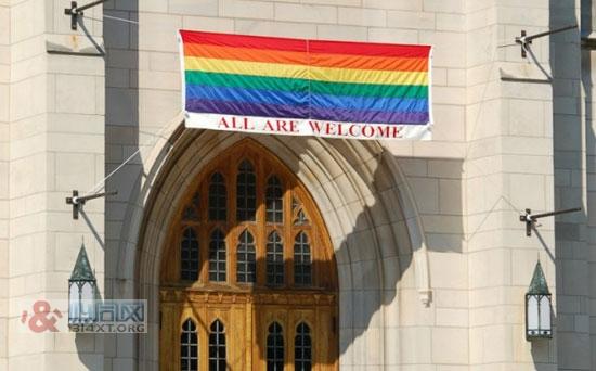 美国长老会修改婚姻定义 支持同性婚姻